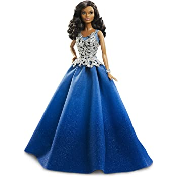 Mattel barbie dgx99 2016 holiday barbie en robe bleue jeux et jouets - Barbie de noel 2012 ...