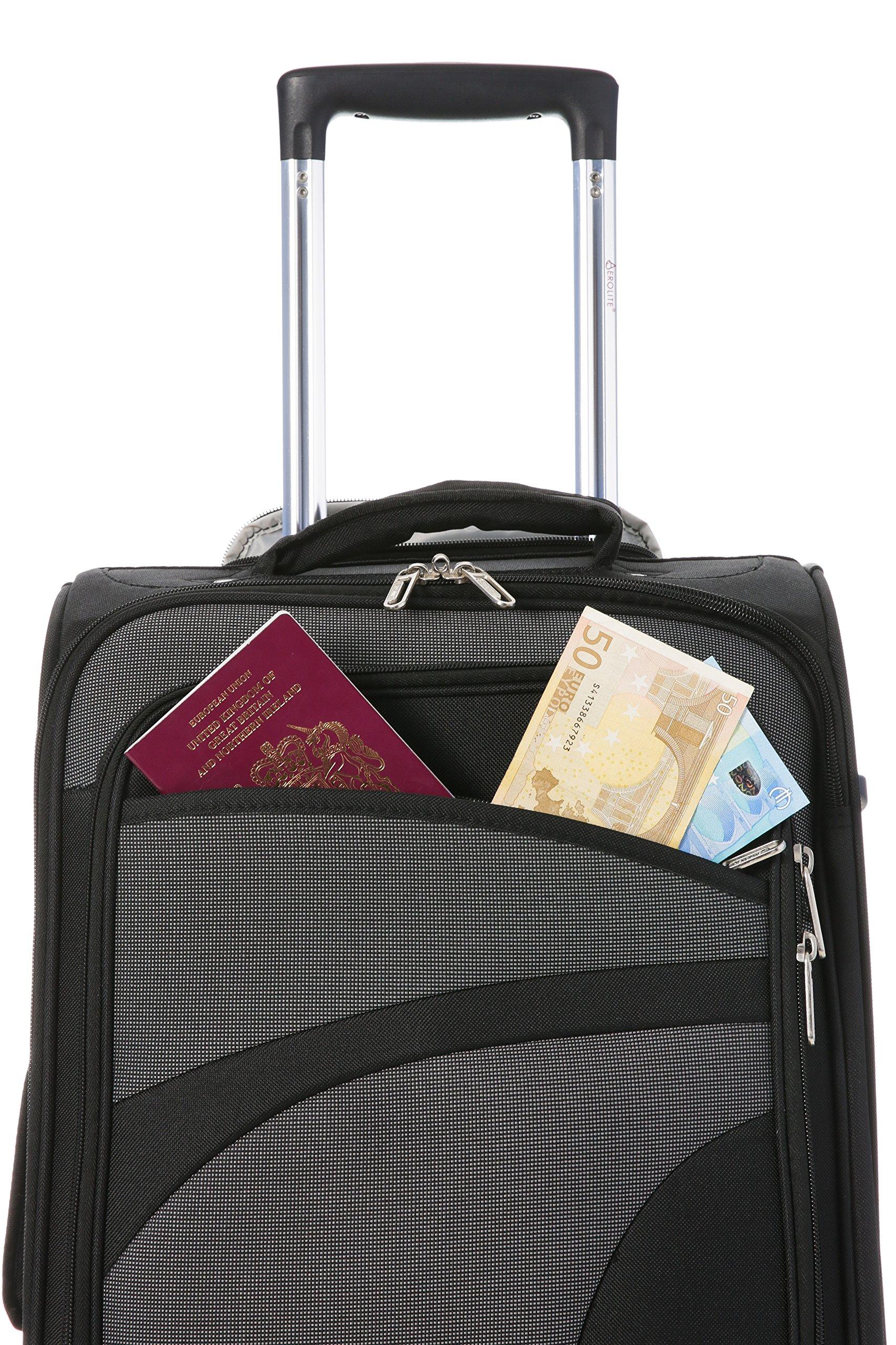 Aerolite-Leichtgewicht-4-Rollen-Handgepck-Trolley-Koffer-Bordgepck-Kabinentrolley-Reisekoffer-Gepck-Genehmigt-fr-Ryanair-easyJet-Lufthansa-Jet2-und-Vieles-Mehr