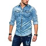 Jack & Jones Jjesheridan Shirt L/S Noos Camisa Vaquera para Hombre