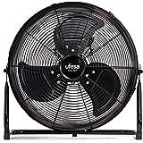 UFESA FF0350 - Ventilateur de sol, 35 cm de diamètre, Flux d'air puissant grâce à la combinaison de puissance et la conceptio