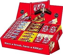 Nestlé Party Box, KitKat, Lion und Nuts, 6 Sorten, 64 Schokoriegel
