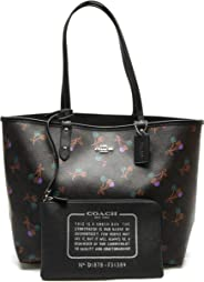 COACH F31389 REVERSIBLE CITY Tote IN SIGNATURE CANVAS WITH CHERRY PRINT