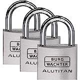 Burg-Wächter Hangslot, TRIO 770 40 SB, 3 sleutels, beugeldikte 6,5 mm, 6 sleutels