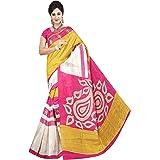Winza Designer Women's Cotton Silk Saree with Blouse
