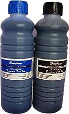 Daytone Fountain Pen Ink 500 Ml. Royal Blue & Black Twin Pack