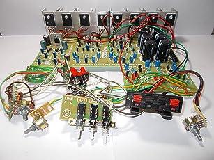 Soumik Electricals 5000 Watt Power Ampifier Board with 8 mosfet Based Ampifier, 15-inch Woofer Easily Run