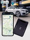 SALIND GPS-Tracker Auto, Motorrad, Fahrzeuge und LKW´s mit Magnet, etwa 40 Tage Akkulaufzeit (bis zu 90 Tage im Standby…