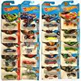 HOTWHEELS Cars Collection Of 20 Futuristic Models   Multi Color