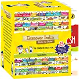 Discover India: A complete boxset of 30 books covering all Indian States and Union Territories for kids