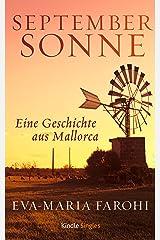 Septembersonne (Kindle Single) Kindle Ausgabe