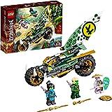 LEGO71745NINJAGOLloyd'sJungleChopperBikeBuildingSet,MotorbikeToywithLloydandNyaMinifigures