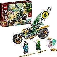LEGO 71745 Ninjago La Moto de la Jungle de Lloyd avec Les Minifigurines de Lloyd et NYA pour Enfant de 7 Ans et