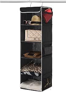 Details about  /Kitchen Rotate Storage Rack Cupboard Shelf Hanging Hook Organizer Closet Clothes