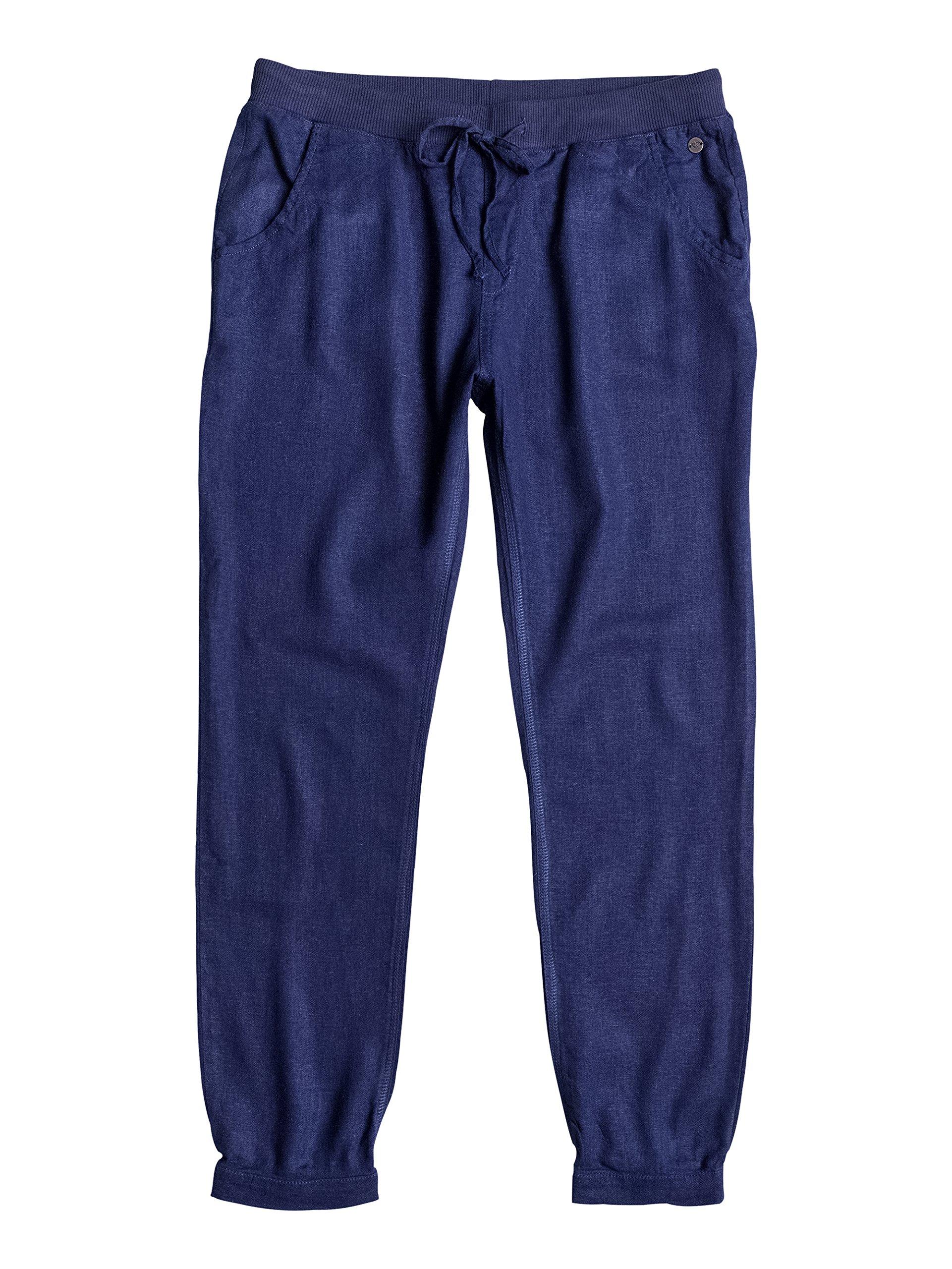 Roxy Silver J NDPT BTC0 – Pantalones para Mujer, Color Azul