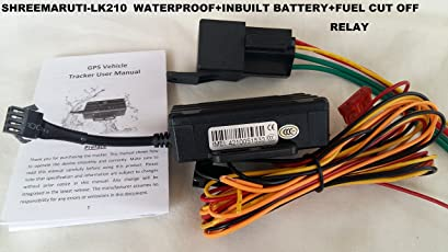 Shreemaruti lk210 waterproof car/bike gps tracker with fuel cut off function