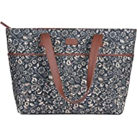 ZOUK Tote Bags for Women - Handmade Bags for Daily Use - Vegan Leather Handbags with Double Handle - Printed Totes for…