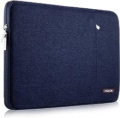 HSEOK 15,6 Zoll Laptop Hülle Tasche,Stoßfeste Wasserdicht PC Sleeve Kompatibel mit 15,4 Zoll MacBook Pro Retina A1398/Pro A1286 und die Meisten 15,6 Zoll Laptops(Dell/HP/Lenovo/Acer Ausu), Blau