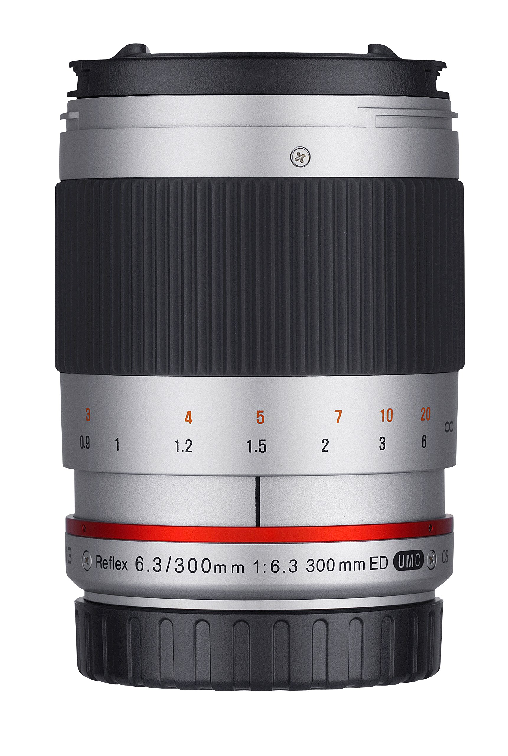 Samyang Obiettivo 300mm F 6,3 per Fuji X, Silver