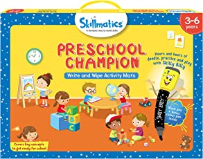 Skillmatics Educational Game: Preschool Champion, 3-6 Years