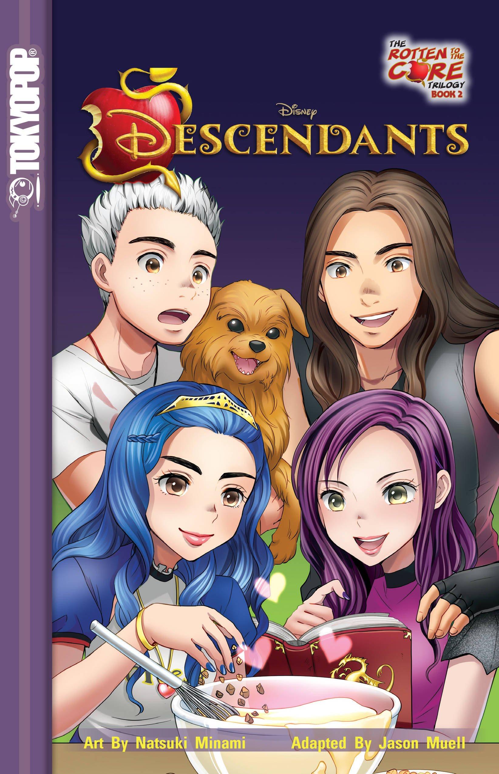 Descendants the Rotten to the Core Trilogy 2