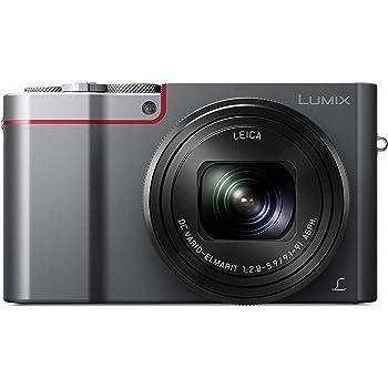 Panasonic Lumix Compact Digital Camera (20.1 MP, 25-250 mm, 10x Optical Zoom, F2.8-5.9 Leica Lens), Silver