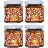 Dhampure Speciality Gur Chana Snack 800g -Pack of 4-200gm Each