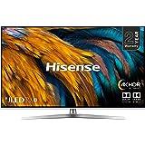 Hisense H55U7BUK 55-Inch 4K UHD HDR Smart ULED TV with Freeview Play (2019)
