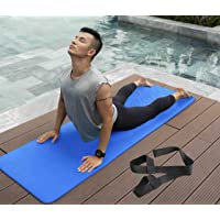 BeFiT® Anti-Skid Yoga Mat for Gym Workout and Yoga Exercise with Carrying Strap