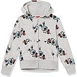Amazon Essentials Niña Minnie Sudadera con capucha y cremallera de forro polar