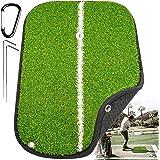 "Rmolitty Golf Mats, Turf Golf Hitting Mat, 14.5""x10.6"" Portable Mini Golf Hitting Mat, Professional Golf Fairway Strike Hitti"