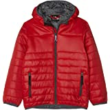 Regatta Kids Stormforce Lightweight Water Repellent Insulated Compressible Hooded Jacket Baffled/Quilted Jackets Unisex niños