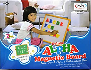 Alpha Magnetic Learning Board