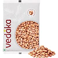 Amazon Brand - Vedaka Raw Peanuts, Pink, 1kg