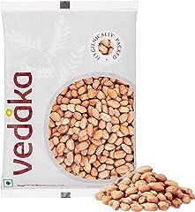Amazon Brand - Vedaka Raw Peanuts, Pink, 1kg