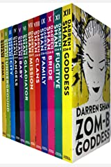Zom-B 12 Books Collection Set Pack By Darren Shan (Zom-B, Underground, City, Angles, Baby, Gladiator, Mission, Clans, Family, Bridge, Fugitive, Goddess) (Zom B Book 1-12) Paperback