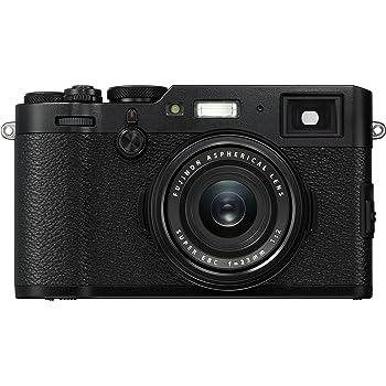 Fuji X100F 24.3 MP 3-Inch LCD Camera with 23 mm f/2.0 Fujinon Lens Kit - Black