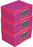 Porchex Presents Non Woven Saree Cover Storage Bags for Clothes with premium Quality Combo Offer Saree Organizer for…