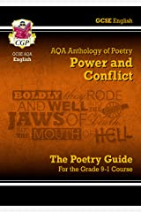 New GCSE English Literature AQA Poetry Guide: Power & Conflict Anthology - for the Grade 9-1 Course (CGP GCSE English 9-1 Revision) Paperback