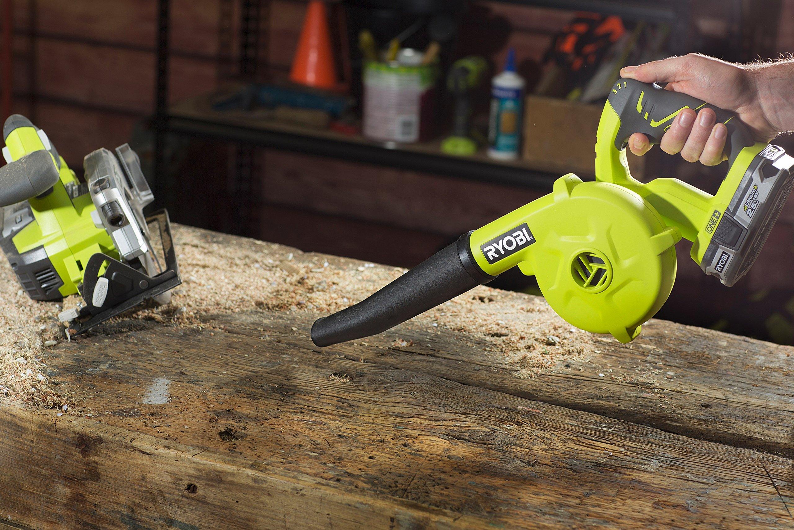 Ryobi R18TB-0 18V ONE+ Cordless Toolshop Blower (Zero Tool)