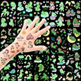 HOWAF Luminoso Unicornio Tatuajes temporales Falso Tatuajes Pegatinas para niños niñas Fiestas Infantiles Unicornio cumpleaño