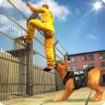Prison Escape Police Dog Chas