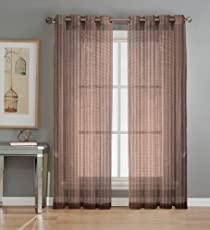 Tissu Net Sheer Curtain Set of 2 Piece