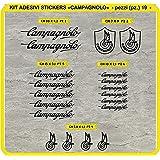Campagnolo Vintage Stil Rahmen Bike Aufkleber Auto