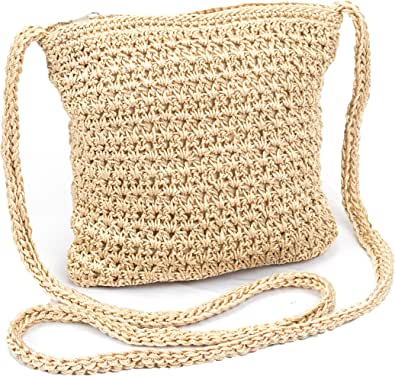 mini crochet shoulder bag