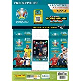 Panini France SA Euro 2020 TCG 2021 Kick Off Pack A (4 Pochettes + 1 Carte édition limitée)