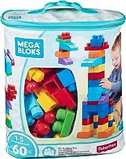 Mega Bloks DCH55 Sacca Ecologica Blu 60 Pezzi