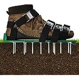 EIVOTOR Zapatos Aireadores de Césped & Zapatos para Airear el Césped & Escarificador Cesped Zapatos Jardín de Césped & Escari