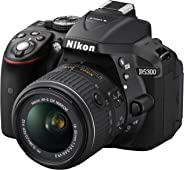 Nikon D5300 SLR-Digitalkamera (24,2 Megapixel, 8,1cm LCD-Display, Full HD, HDMI, WiFi, GPS, AF-System mit 39 Messfeldern) Kit
