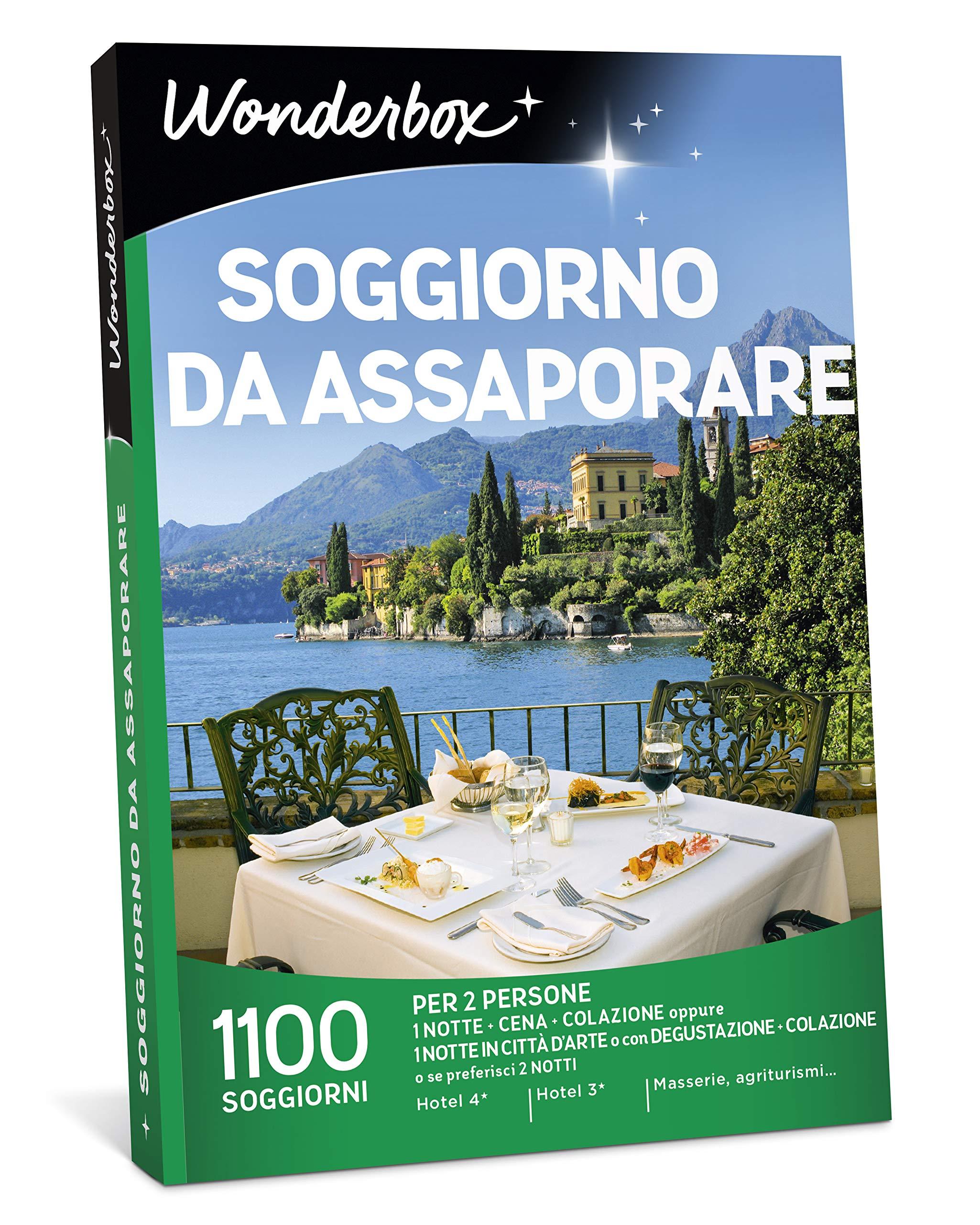 Wonderbox Cofanetto Regalo Soggiorno Da Assaporare 1100