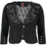 Too Fast Brand Jacket MUERTA BLAZER black L